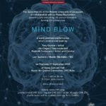 MIND BLOW a world premiere performance of art, science and taste