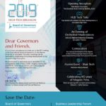 SAVE THE DATE – Board of Governors 2019