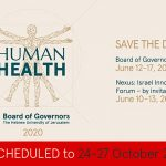 Hebrew University Board of Governors Gathering 2020 | Human Health